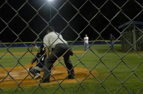 umpire behind the plate