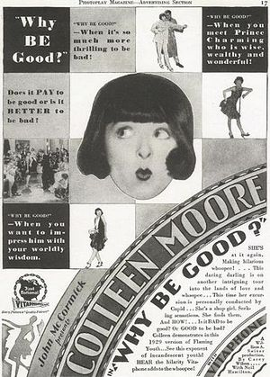 Ad for Why Be Good?