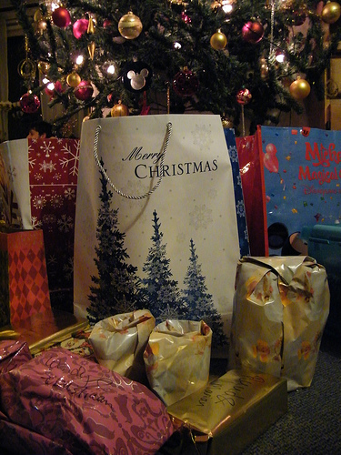 Day 28 - Unwrapping Christmas gifts