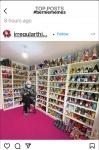 Bernie in the shoe store